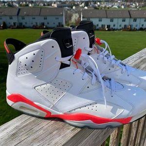 Jordan 6 infrared (white)